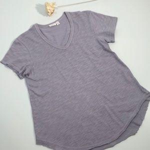 Wilt, Anthropologie t-shirt, pale purple, Sz Sm